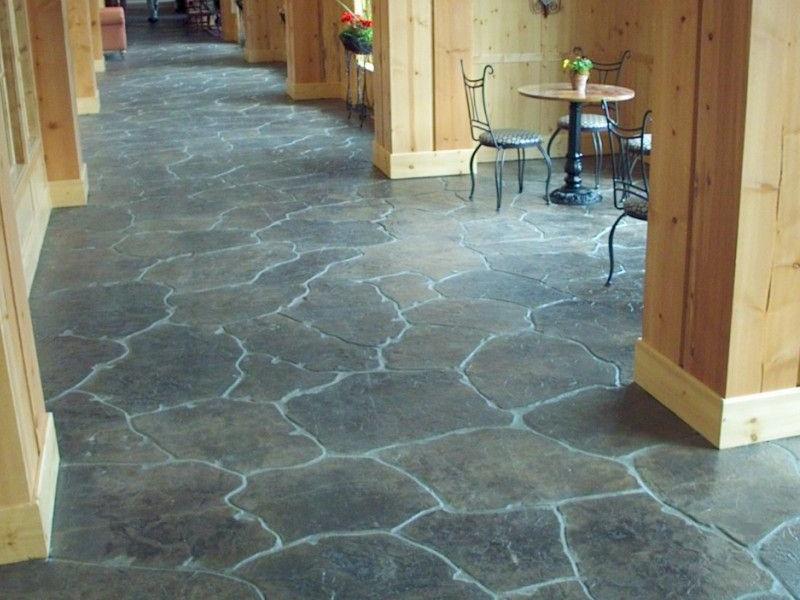 Thiết kế nội thất có sử dụng bê tông áp khuôn